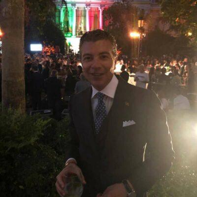 Dario Item alla Festa della Repubblica Italiana a Madrid