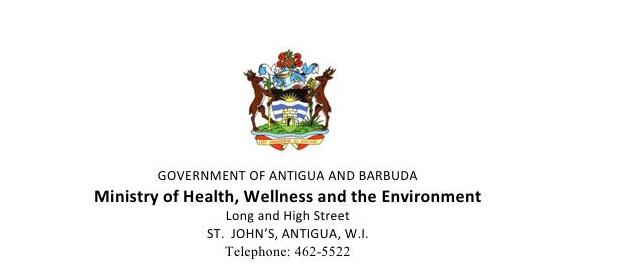 Ministry of Health, Wellness and the Environment, Dashboard Update