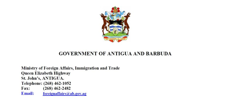 Antigua and Barbuda COVID 19 testing services information