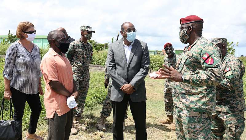 Antigua and Barbuda Defence Force contributing to National Food Security