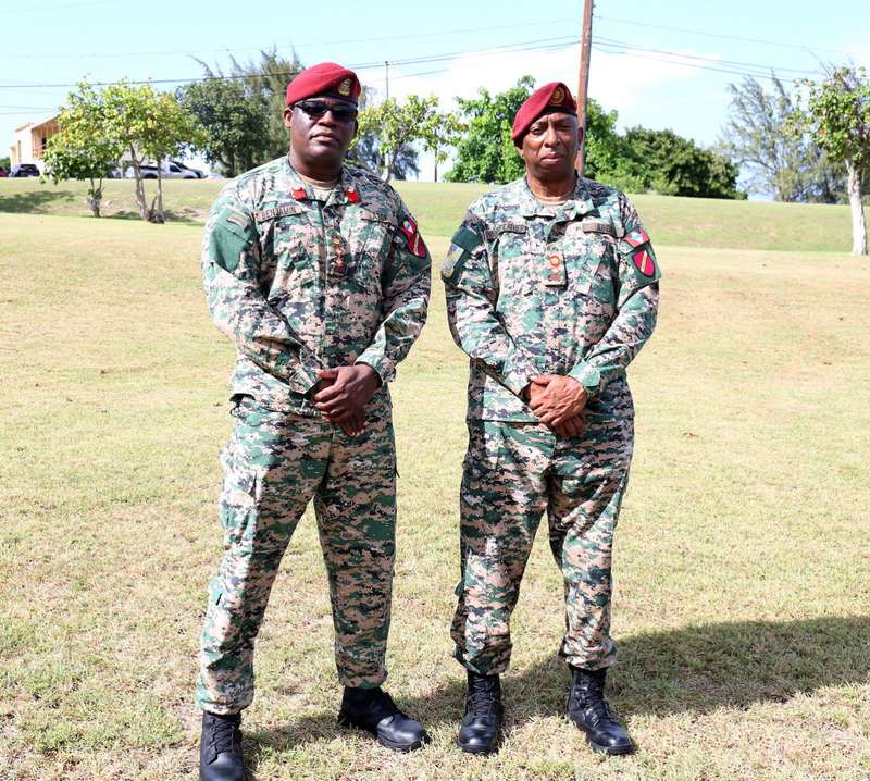 Lieutenant Colonel Trevor K. Pennyfeather appointed Deputy Chief of Defence Staff of the Antigua and Barbuda Defence Force