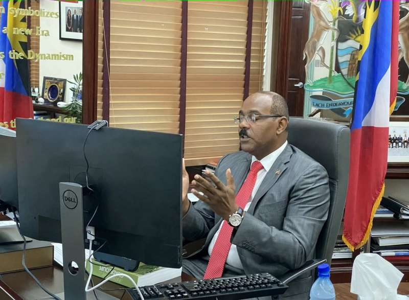 Dario Item News Prime Minister Browne makes appeal for greater engagement with private (1)