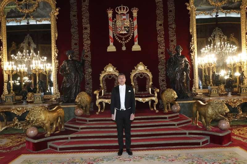 Dario Item is the Ambassador of Antigua and Barbuda in Madrid