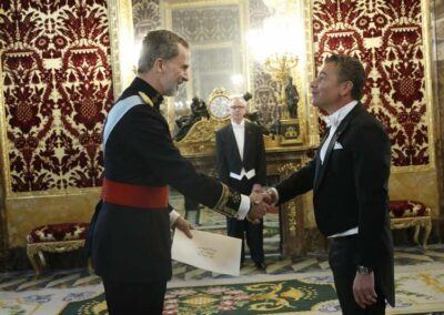 Dario Item Gallery Presentation of Credentials Spain (7)