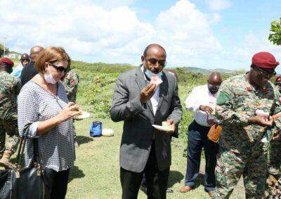 Dario Item News Antigua and Barbuda Defence Force contributing to National Food Security (5)