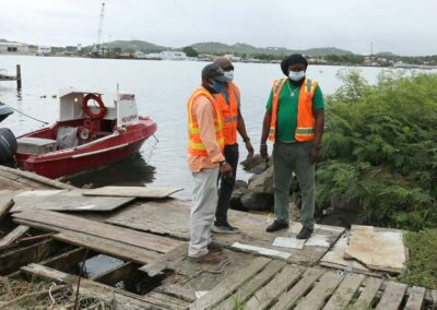 Dario Item News Work starts Monday on Keeling Point Pier (2)