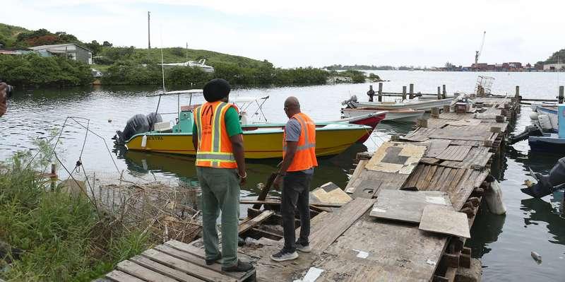 Work starts Monday on Keeling Point Pier