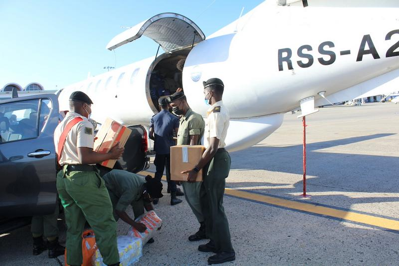Antigua And Barbuda National Cadet Corps Renders Assistance To The Saint Vincent Cadet Corps