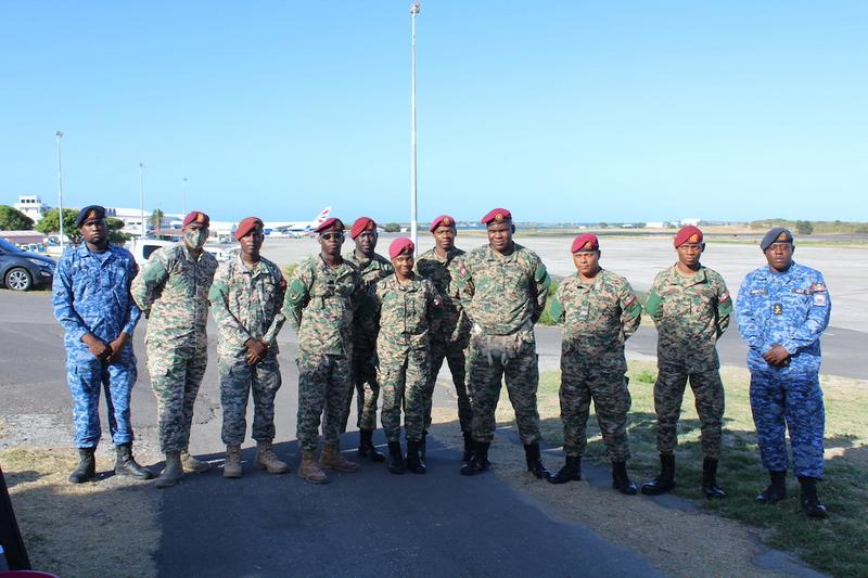 ABDF deploys soldiers to Saint Vincent and the Grenadines