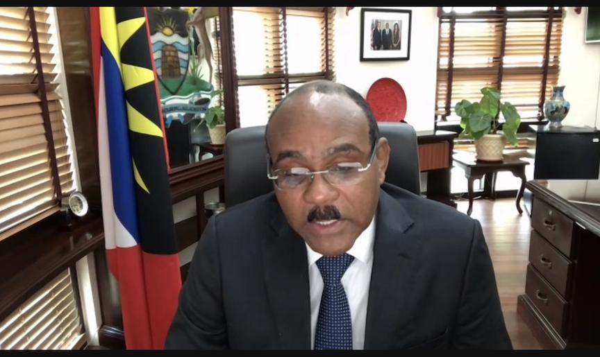 The Right Honourable Gaston Browne