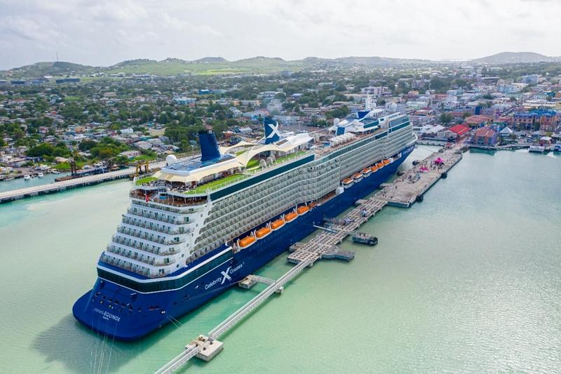 Antigua cruise port welcomes celebrity equinox after enhancing covid-19 protocols